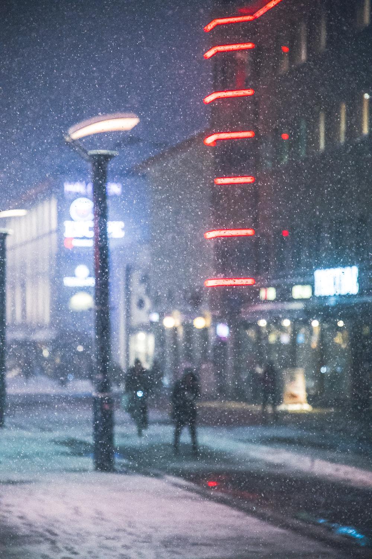 Kuva Jyväskylän keskustasta 12.12.2017